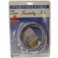 Vehicle Cover Cable & Lock Set