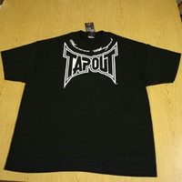 "Tapout Tap Out Mens Black Tee Shirt ""Locked-Up"""