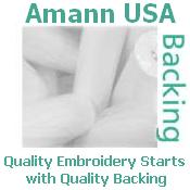 "Tear-Away Backing 1.5oz 23"" x 100yd Roll by Amann USA (Formerly Ackermann)"