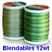 Sulky Blendables 12wt Cotton Thread Article # 713-4xxx (Heavier)