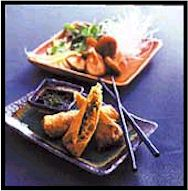 Mushroom and Leek Spring Rolls with Mint Dipping Sauce