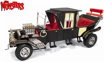 The Munsters Koach 1:18 Diecast Model - Auto World - click to enlarge