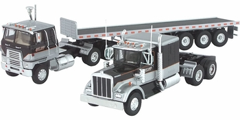 International Transtar & Kenworth W925 w/Trailer Model - Corgi US24902 - click to enlarge