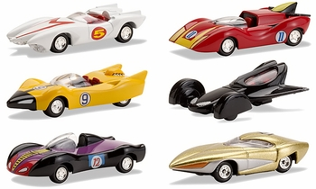 Speed Racer 1:64 Diecast Model Set of 6 - Johnny Lightning - click to enlarge