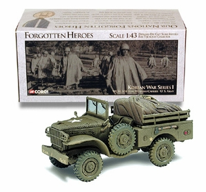 WC-51 Weapons Carrier Model, US Army, Korea - Corgi US51703 - click to enlarge