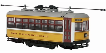 Birney Safety Car Trolley Model, Connecticut Co. - Corgi US55207 - click to enlarge
