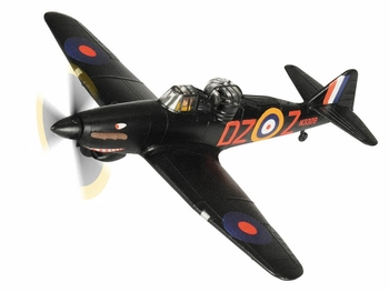 Defiant Mk.I Night Fighter Model, RAF, 151 Squadron - Corgi AA39302 - click to enlarge