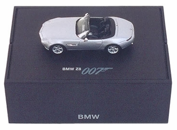 BMW Z8 Model, James Bond: The World Is Not Enough - BMW 1:87 - click to enlarge