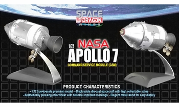 Apollo 7 Command & Service Module Model - Dragon Wings 50374 - click to enlarge