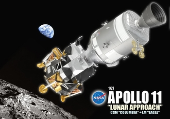 Apollo 11 Command & Service + Lunar Module - Dragon Wings 50375 - click to enlarge