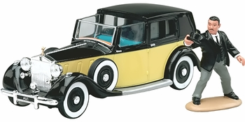 James Bond Rolls Royce Model & Figure: Goldfinger - Corgi CC06803 - click to enlarge