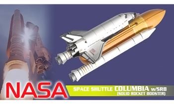 Space Shuttle Columbia w/ SRB Model, NASA - Dragon Wings 56213 - click to enlarge