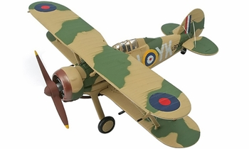 Gloster Gladiator Mk.I Model, RAF, 80 Sqn - Corgi AA36205 - click to enlarge