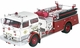 Mack C Pumper Model, Baltimore Fire Dept., MD - Corgi US53205