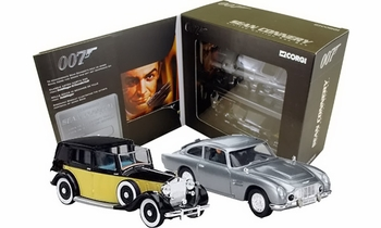 James Bond, Sean Connery Era: DB5 & Rolls Royce Set - Corgi CC93984 - click to enlarge