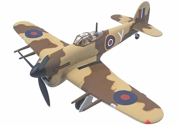 Typhoon Mk.IB Model, RAF, No. 461 Squadron, 1943 - Corgi AA36501 - click to enlarge