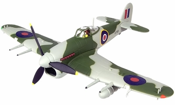 Typhoon NF Mk.IB Model, RAE, 1943 - Corgi AA36505 - click to enlarge