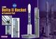 Delta II Rocket Model w/ Launch Pad, NASA - Dragon Wings 56238