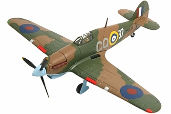 Hurricane Mk.IIB Model, 134 Squadron, Russia - Corgi AA32013 - click to enlarge