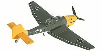 Ju 87 Stuka Model, Luftwaffe, 1./StG 1 - Corgi HC32508 - click to enlarge