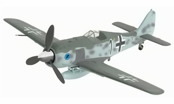 Fw 190 A-3 Model, Luftwaffe, Kurt Wendler - Dragon Wings 50054 - click to enlarge