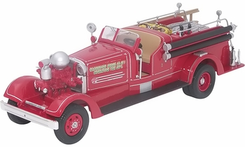 Ahrens-Fox HT Pumper Model, Morristown Fire Dept. - Corgi US52605 - click to enlarge