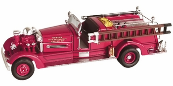 Ahrens-Fox HT Pumper Model, Boston Fire Dept. - Corgi US52606 - click to enlarge