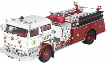 Mack C Pumper Model, Baltimore Fire Dept., MD - Corgi US53205 - click to enlarge