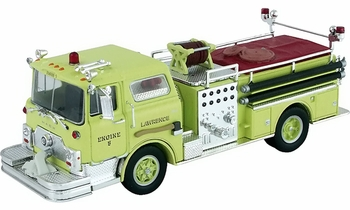 Mack CF Pumper Model, Lawrence Fire Dept., MA - Corgi US52012 - click to enlarge