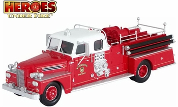 Peter Pirsch Closed Cab Pumper, Sarasota Fire Dept. - Corgi US53607 - click to enlarge