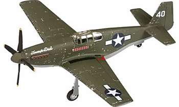 "P-51B Mustang Model, USAAF, ""Tommy's Dad"" - Corgi AA37104 - click to enlarge"