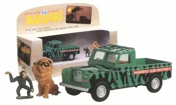 Daktari Land Rover w/ Figures 1:43 Diecast Model - Corgi - click to enlarge