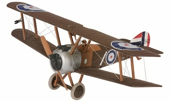 Sopwith Camel F.1 Model, RAF, Capt. Henry Woollett - Corgi AA38104 - click to enlarge