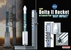 "Delta II Rocket Model, NASA, ""Deep Impact"" - Dragon Wings 56243"