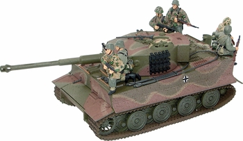 Tiger Tank Model with Figures, German Army - Corgi US60511 - click to enlarge