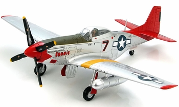 "P-51D Mustang Model, ""Bunnie"", 100th FS - Hobby Master HA7717B - click to enlarge"