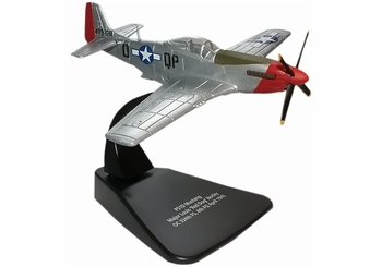P-51D Mustang Model, USAAF, Maj. Louis Norley - Oxford Diecast AC021 - click to enlarge