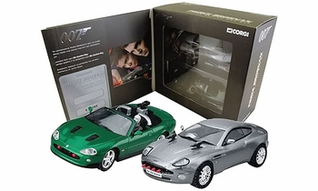 James Bond, Pierce Brosnan Era: Vanquish & Jaguar Set Corgi CC93986 - click to enlarge