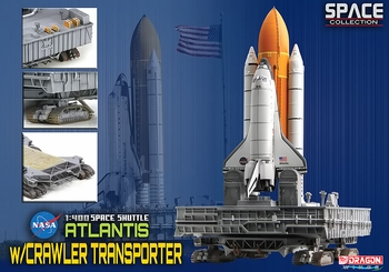 Space Shuttle Atlantis w/ Crawler-Transporter - Dragon Wings 56392 - click to enlarge