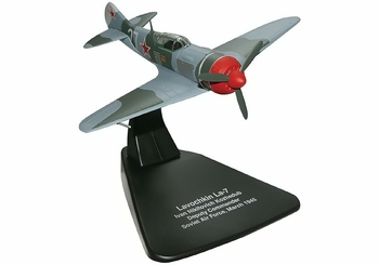 La-7 Model, Soviet Air Force, Ivan Kozhedub - Oxford Diecast AC034 - click to enlarge
