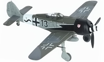 Fw 190 A-8 Model, Luftwaffe, Walther Dahl - Dragon Wings 50269 - click to enlarge