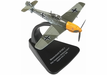 Bf 109E-4 Model, Luftwaffe, II./JG 27 - Oxford Diecast AC002 - click to enlarge