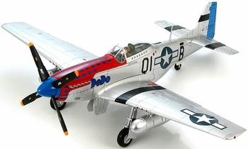 "P-51D Mustang Model, USAAF, ""DoDo"" - Hobby Master HA7720B - click to enlarge"