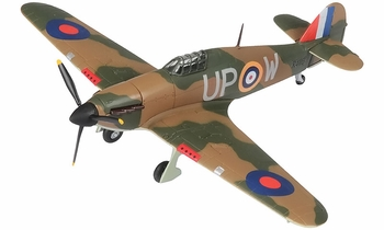 Hurricane Mk.I Model, RAF, No. 605 Squadron - Corgi AA32020 - click to enlarge