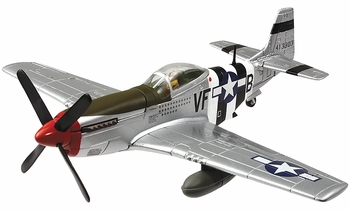 P-51D-5 Mustang Model, USAAF, Maj. James Goodson - Corgi US32228 - click to enlarge