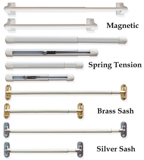 Merveilleux Sidelight Curtain Rods And French Door Curtain Rods In A Variety Of Styles  To Choose From.