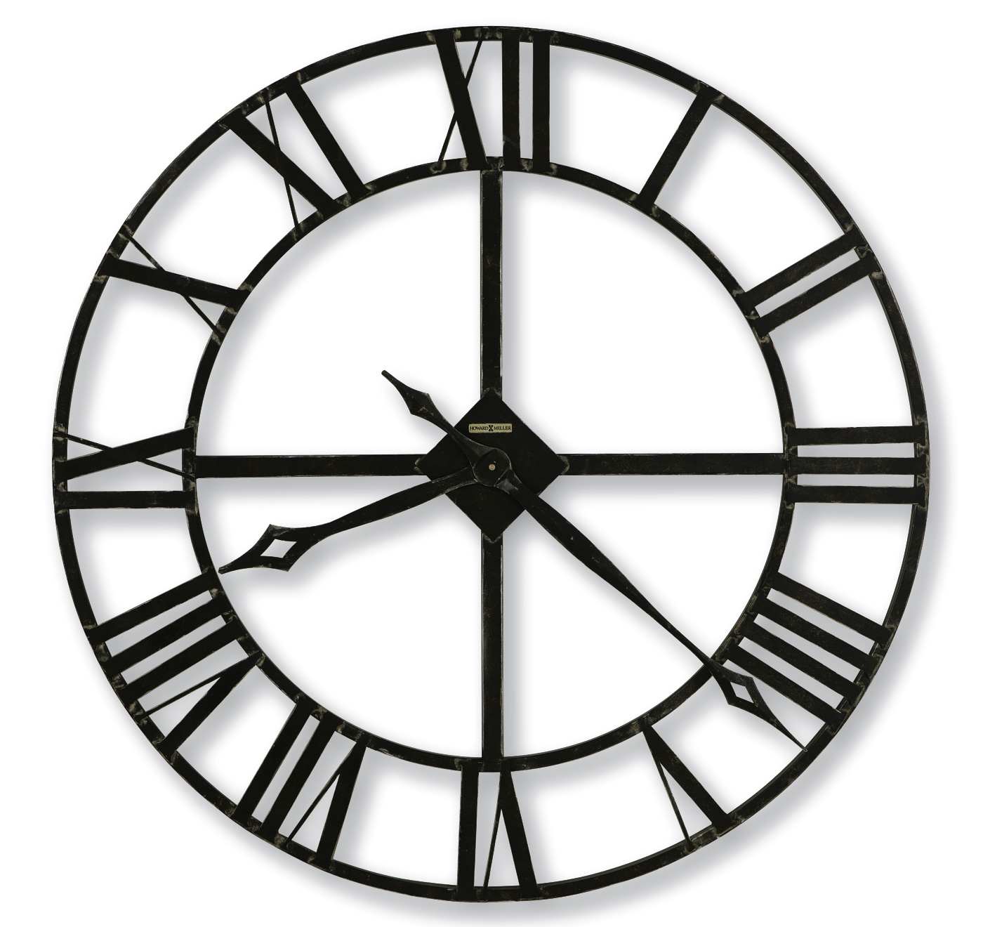 Lacy Wall Clock 32 by Howard Miller Open Face Wall Clocks