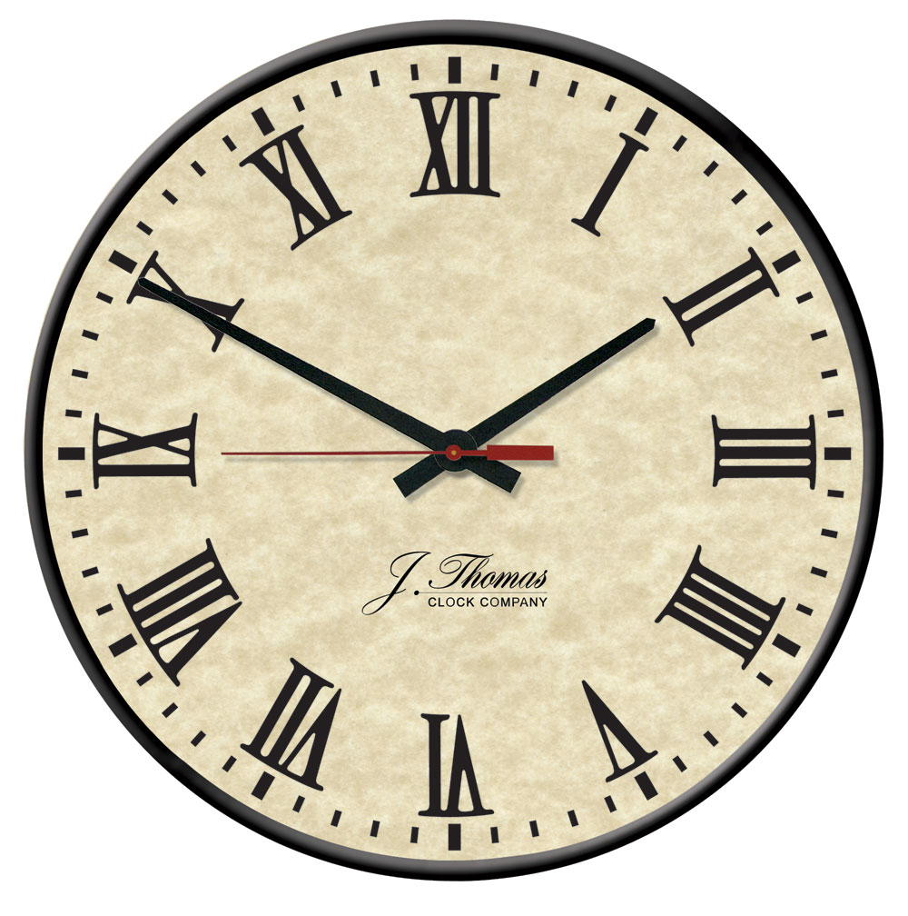 Edison electric wall clock by j thomas 13 made in america clocks amipublicfo Images