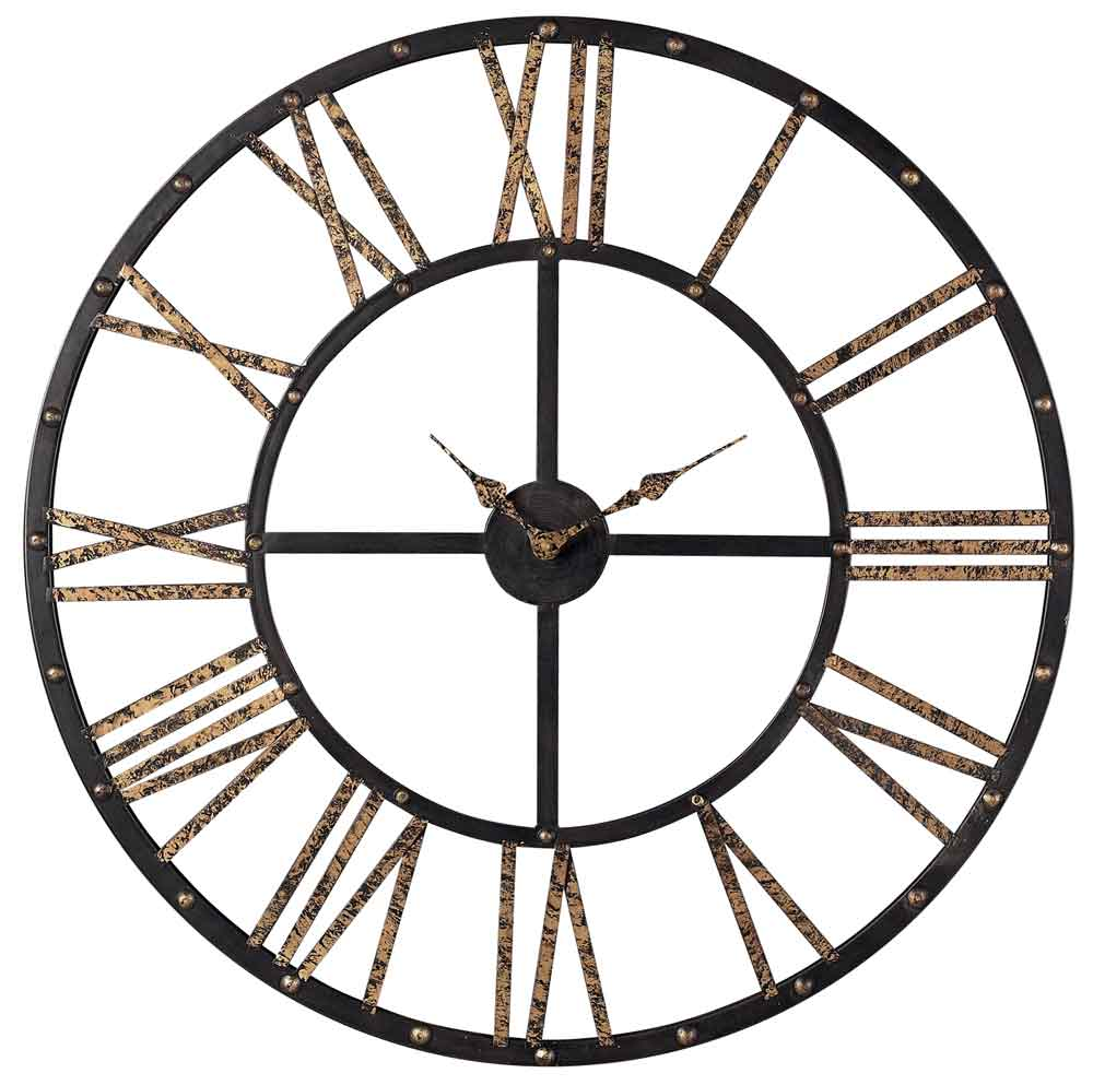 Fenmore wall clock 28 by sterling open face wall clocks amipublicfo Gallery