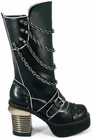 "4"" Buckle Strap Knee Boot * KRULL"